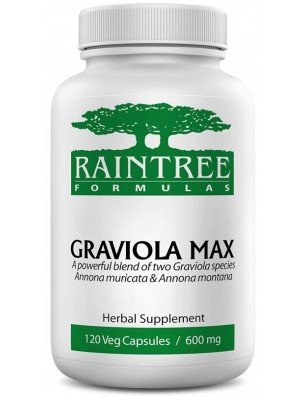 Raintree Graviola Max 600 mg 120 Capsules